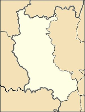 Луара на карте
