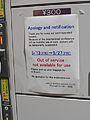 42nd G7 Summit Securit Measures Coin Locker Notice Kyoto Station.jpg