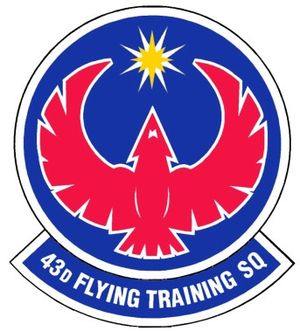 43d Flying Training Squadron - 43d Flying Training Squadron Patch