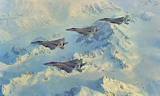 43d Tactical Fighter Squadron - F-15s over Alaska Range.jpg
