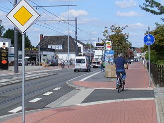Lilienthal, Lower Saxony - Image: 462c Z240 Hauptstr Lilienthal