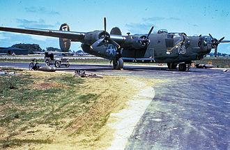851st Strategic Missile Squadron - 490th Bombardment Group B-24 Liberator