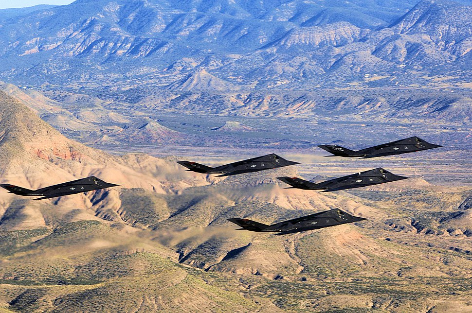 49th Operations Group - F-117 Nighthawks over New Mexico