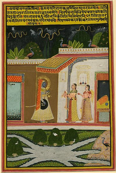 File:4 Sravana (july-august). Barahmasa series. Jaipur, ca. 1800, British Museum.jpg