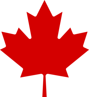 Canada women's national ice hockey team - Image: 553px lib maple leaf