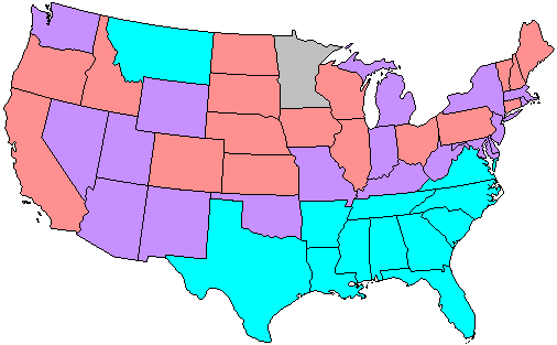 68th US Senate composition