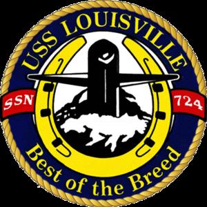 USS Louisville (SSN-724) - Image: 724insig