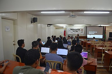 9th Waray Wikipedia Edit-a-thon 07.JPG