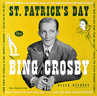 <i>St. Patricks Day</i> (album) 1947 compilation album by Bing Crosby