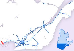 Quebec Autoroute 5 - Image: A 5