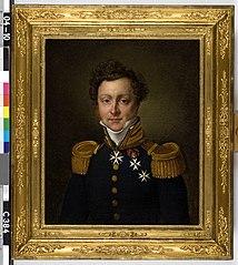 Jules Thierry Nicolas (1787-1837), baron de Constant Rebecque de Villars