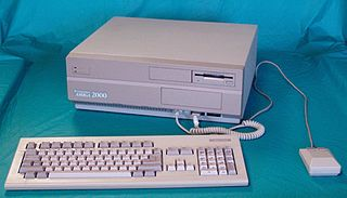 Amiga 2000 home computer