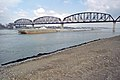 A6b013 10mp Hugh C. Blaske approaching Big Four Bridge (6466794001).jpg