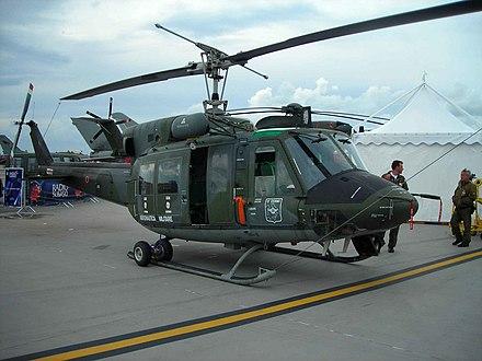 Un AB-212 del 15º Stormo