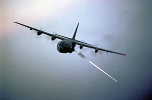 Operation Black Lion - An AC-130 gunship mission was crucial in repelling communist attacks on BC 401.