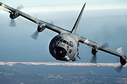 AC-130A pylon turn