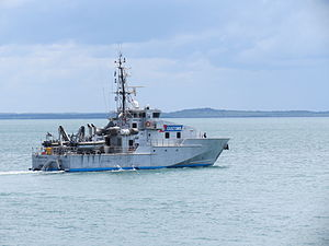 ACV40 Hervey Bay Departing Stokes Hill Wharf January 2012.jpg