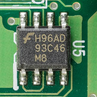 Serial Peripheral Interface - Fairchild Serial EEPROM with Microwire bus