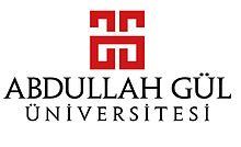 「Abdullah Gül University」的圖片搜尋結果