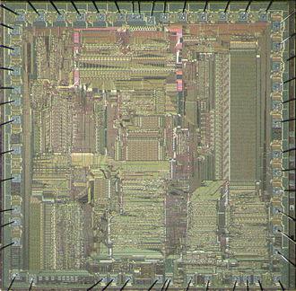 AMD Lance Am7990 - AMD Am7990 LANCE die shot.