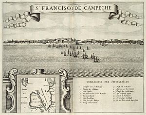 Can Pech - Campeche after the conquest