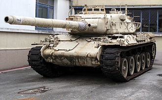 AMX-30 - Prototype of AMX-30C2 sporting a 105 rifled tank gun