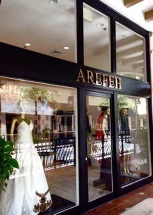 Arefeh Mansouri - The AREFEH Shop at 150 Worth Avenue, Palm Beach, USA in 2013