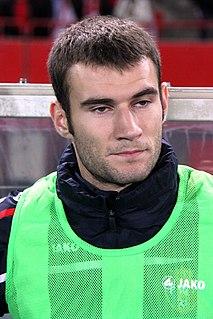 Radu Gînsari Moldovan footballer