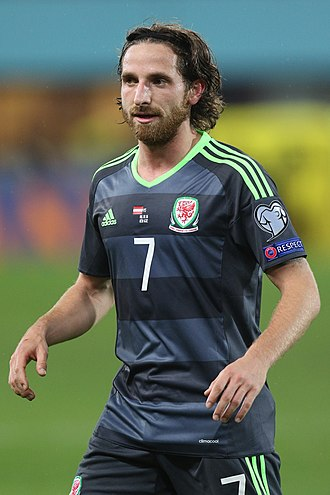 Joe Allen - Allen playing for Wales in 2016
