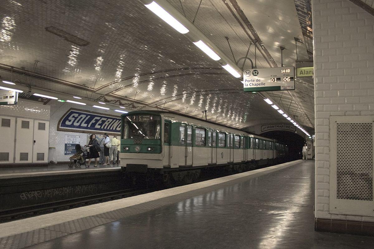 Paris M tro Line 12 Wikipedia
