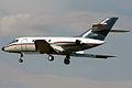 A IRIAF Dassault Falcon 20 lands at Mehrabad Airport.jpg