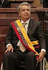A Lenín Moreno (Transmisión del Mando Presidencial Ecuador 2017) .jpg