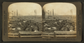A busy morning in the Great Union Stock Yards (stockyards), Chicago, Ill, from Robert N. Dennis collection of stereoscopic views.png