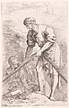 A man pulling a net with two figures behind him, from the series 'Figurine' MET DP141386.jpg