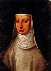 A nun, traditionally identified as Suor Maria Celeste, daughter of Galileo Galilei