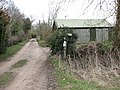 A shed beside the footpath - geograph.org.uk - 1759364.jpg