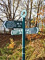 A signpost on the Fallowfield Loop near Nelstrop Road (8513119887).jpg