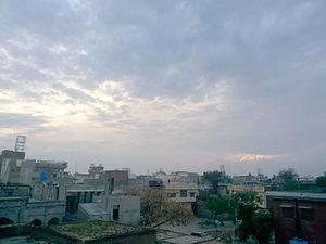 Jalalpur Jattan - View of Sadhu Neighbourhood
