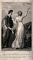 A young man and a woman are standing together in the country Wellcome V0040789.jpg