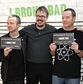 Aaron Paul, Vince Gilligan and Bryan Cranston cropped.jpg