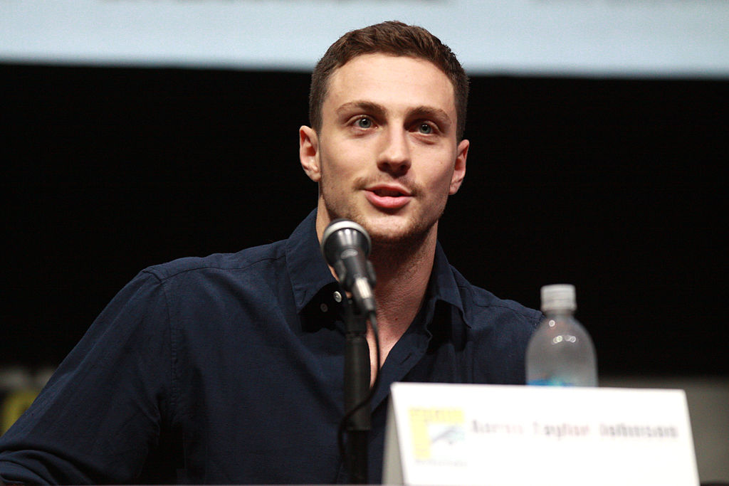Aaron Taylor-Johnson 2013 SDCC
