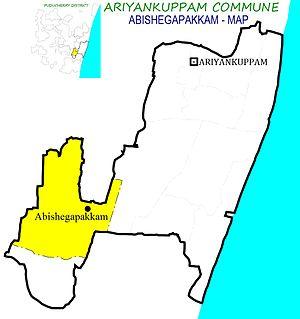 Abishegapakkam - Abishegapakkam Village in Ariyankuppam Commune