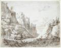 Abraham Genoels - A rocky landscape.tiff