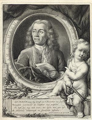 Abraham de Haen - Portrait by Jan Maurits Quinkhard (1771) Rijksmuseum Amsterdam