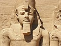 Abu Simbel temple left guard.jpg
