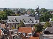 La Academy-konstruaĵo de la Universitato de Leiden