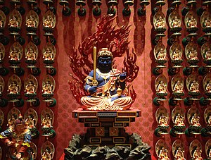 Acala - Acala at Buddha Tooth Relic Temple and Museum, Singapore