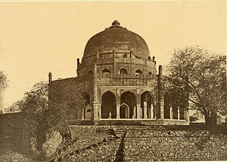 Tomb of Adham Khan 16th-century tomb of a general of Emperor Akbar