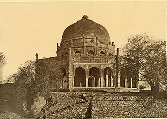 Tomb of Adham Khan - Photograph (1872)
