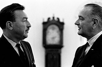 Adam Clayton Powell Jr. - Powell with President Lyndon Johnson in the Oval Office, 1965.